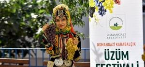 Bursa'da en güzel üzümler yarıştı