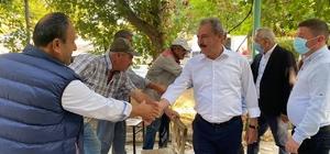 AK Parti Milletvekili Şahin Tin, Bozkurt İlçesini ziyaret etti