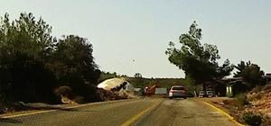 Çiftin ağır yaralandığı kaza, araç kamerasına yansıdı Bilge çifti yoğun bakımda yaşam mücadelesi veriyor