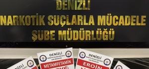 Denizli'de 24 zehir taciri gözaltına alındı