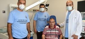 """Adana'da baş ve boyun kanseri taraması yapıldı Prof. Dr. Timuçin Çil: """"Erken tanı ile hastalıktan kurtulmak mümkün"""""""