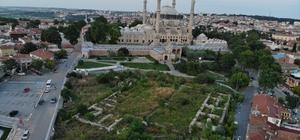 Selimiye Meydan Projesi için çalışmalar başladı Mimar Sinan'ın ustalık eseri Selimiye Camii Meydan Projesi çalışmaları başladı