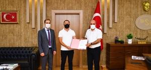 Taşkın ve rusubat inşaatı işine ait sözleşme imzalandı