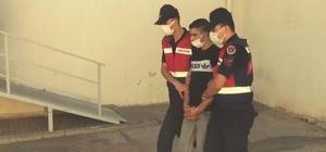 Firari uyuşturucu taciri bağ evinde yakalandı