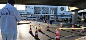 Havalimanındaki tramvay durağından aşağı atlayan turist hayatını kaybetti Fraport TAV Antalya Havalimanı'nda turistin intiharı Olay yerinden geçen turistler şaşkınlıklarını gizleyemedi