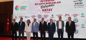 CHP'li büyükşehir başkanları Hatay'da