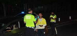 Antalya'da sürücülere alkol denetimi Gece saatlerinde farklı noktalarda denetimler yapıldı