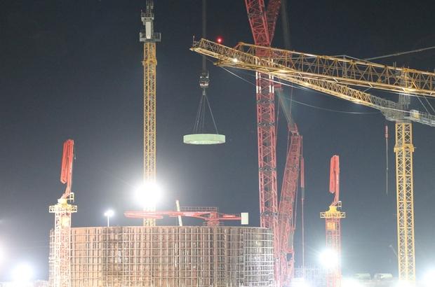 Akkuyu NGS'nin 2. güç ünitesine reaktör şaftının ana elemanları kuruldu