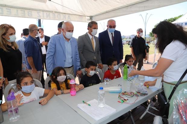 Akdeniz'de 'TÜBİTAK 4007 Bilim Şenlikleri' başladı