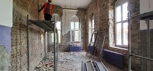 Keşan Kent Müzesi'nde tarihi doku gün yüzüne çıkıyor