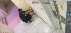Batman'da su sayaçlarını çalan hırsız kameraya takıldı