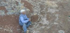 Tuzakla keklik yakalayan kaçak avcıya 3 bin 500 lira ceza