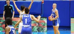FIBA Kadınlar Avrupa Kupası: Hatayspor: 100 - Enisey Krasnoyar: 76