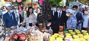 """Osmaniye'de """"Üretim ve Lezzet"""" şenliği 15 Ekim Dünya Kadın Çiftçiler Günü etkinlikleri kapsamında Bahçe Ziraat Odası ve Bahçe Kadın Kooperatifi tarafından """"Üretim ve Lezzet"""" şenliği düzenlendi"""