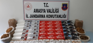 Amasya'da 39 binden fazla bandrolsüz makaron ele geçirildi