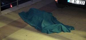 93 yaşındaki yaşlı kadın pencereden düşerek hayatını kaybetti Yaşlı kadının düşme anı çevredeki iş yerinin güvenlik kamerasına yansıdı