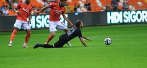 Süper Lig: Adana Demirspor: 0 - Yeni Malatyaspor: 1 (İlk yarı sonucu)