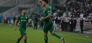 TFF 1. Lig: Bursaspor: 3 - Boluspor: 1