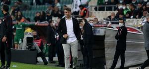 """Reha Enginer: """"Rakip çok az kalemize geldi ama 3 gol yedik"""""""