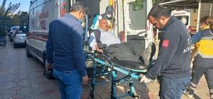 Kahta'da otomobil takla atarak durabildi: 2 yaralı