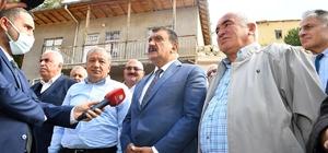"""Başkan Gürkan, alt ve üst yapı çalışmalarını inceledi Gürkan: """"Malatya'da 718 mahallemize de asfalt yollardan gidilmesi mümkün"""""""