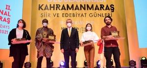 """2. Uluslararası Şiir ve Edebiyat Günleri başladı Başkan Güngör: """"Kahramanmaraş'ın sözü Türkiye'nin sözüdür"""""""