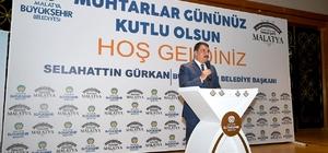 """Muhtarlar buluşması programı gerçekleştirildi Gürkan: """"Muhtarlarımız mahallelerinin en güvenilen ve inanılan kişileridir"""""""
