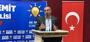 Milletvekili Arvas, Erdoğan'sız bir Türkiye tahayyül edenler başaramayacaklar