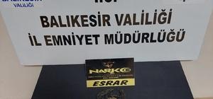 Balıkesir'de polis ve jandarmadan asayiş ve uyuşturucu operasyonu