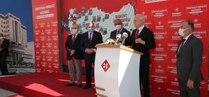 """Adana'da """"Hematoloji ve Onkoloji Hastanesi"""" temeli atıldı Prof. Dr. Mehmet Haberal: """"Biz sağlıkta ülkemizin insanını başka ülkelere muhtaç etmiyoruz"""""""
