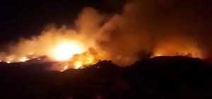 Antalya'da sazlık alan ve tarım arazilerinde yangın Yakılan anızlar ve bahçe atıkları yangına sebep oldu Alevler ormanlık alana ulaşmadan söndürüldü