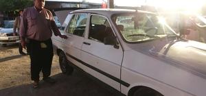 Emektar çiftçinin çalınan arabasını, polis jandarma ortak çalışma ile buldu