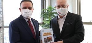 Baybatur'dan Başkan Ergün'e 'Hayırlı olsun' ziyareti