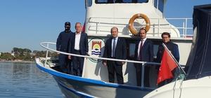 Ruhsatsız avcılıktan yakalanan teknenin mülkiyeti kamuya geçirildi