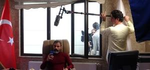 (Özel) İranlı yönetmen Van'da dizi çekimine başladı