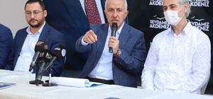 """Gültak'tan Akdeniz için 'pozitif ayrımcılık' vurgusu Akdeniz Belediye Başkanı Mustafa Gültak: """"Kentin ticareti Akdeniz'de dönüyor ama ilçeye yansımıyor"""" """"Akdeniz için hayallerimiz ve projelerimiz var"""""""