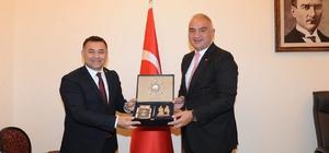 Başkan Yücel, Bakan Ersoy ile bir araya geldi