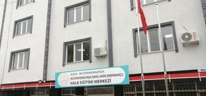 Halk Eğitim'e yeni bina