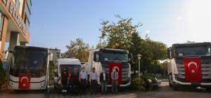 Erdemli Belediyesi araç filosunu genişletti